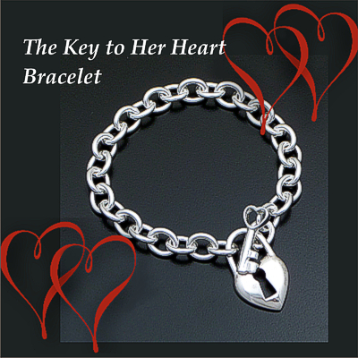 The Key to Her Heart Bracelet