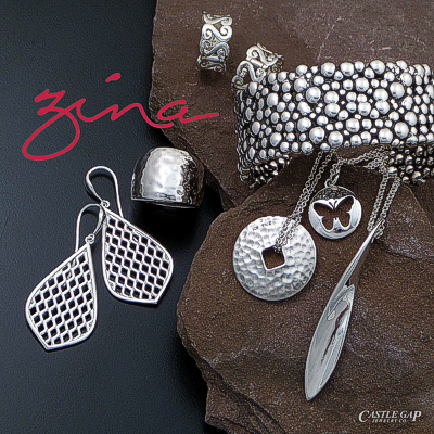 Zina sterling silver desginer jewelry