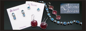 Acleoni Designs sterling silver jewelry collection