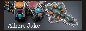 Albert Jake sterling silver jewelry collection