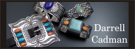 Darrell Cadman sterling silver jewelry collection