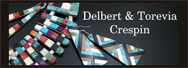 Delbert and Torevia Crespin jewelry collection