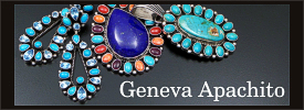 Geneva Apachito sterling silver jewelry collection