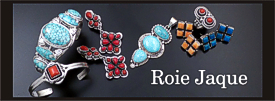 Roie Jaque sterling silver jewelry collection