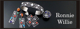 Ronnie Willie sterling silver jewelry collection