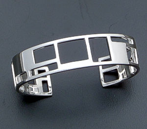 Zina - Windows Narrow Sterling Silver Cuff Bracelet #37288 $285.00