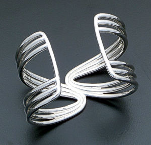 Zina - Wired Sterling Silver Cuff Bracelet #39596 $450.00