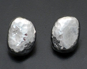 Zina - Sterling Silver Riverstone Earrings #37283 $145.00