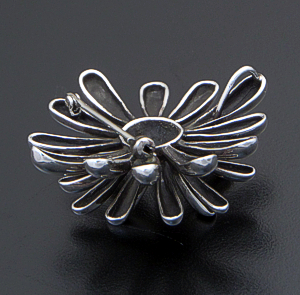 Zina - Sterling Silver Fireworks Pin and Pendant #40257 $225.00