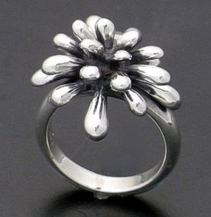 Zina - Sterling Silver Fireworks Ring #36572 $225.00