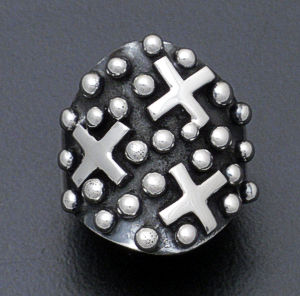 Ronnie Willie - Sterling Silver Four Corners Ring #37893 $150.00