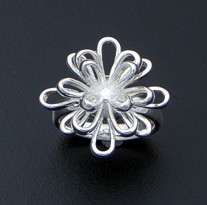Zina - Ribbon Fireworks Sterling Silver Ring #42850 $195.00